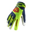 画像1: 【K】 グローブ TRACK GLOVES / LIME RED (1)