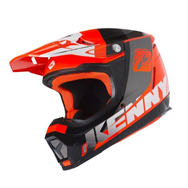 画像1: 【K】ヘルメット PERFORMANCE HELMET / NEON ORANGE (1)