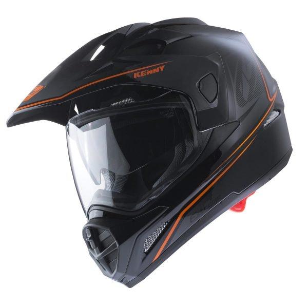 画像1: 【K】ヘルメット EXTREME HELMET / BLACK NEON ORANGE (1)