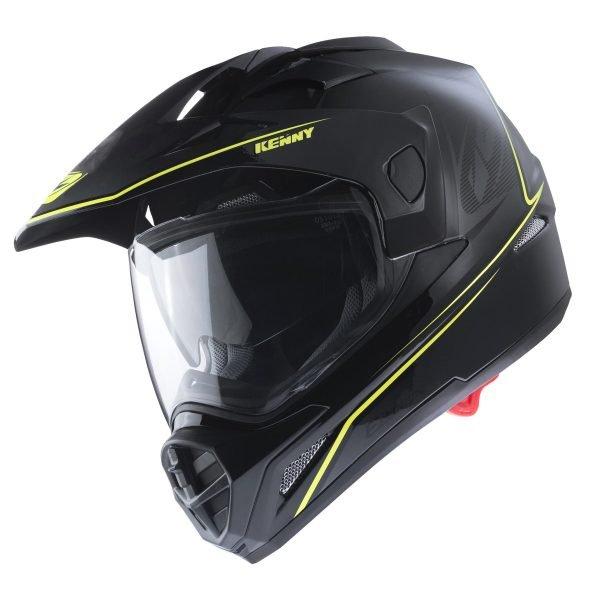 画像1: 【K】ヘルメット EXTREME HELMET / BLACK NEON YELLOW (1)